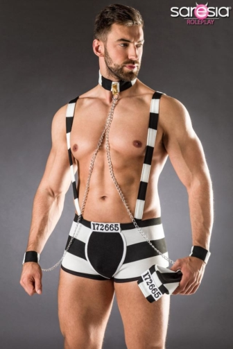 convict/prison costume by Saresia Roleplay MEN