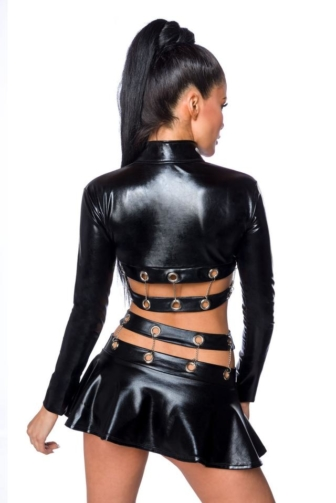 Wetlook Set with Skirt