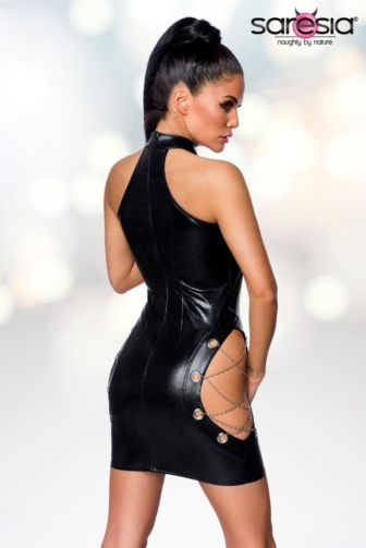 Wetlook mini Dress