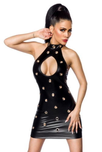 Wetlook mini Dress