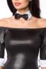 Minidress with bow tie