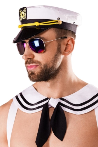 Navy Costume by Saresia MEN roleplay
